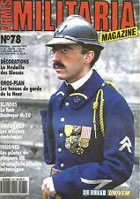 MILITARIA N° 78 OFICIER US / MEDAILLE BLESSES FR TAMK M-10 / BLINDEE INDO 47-55
