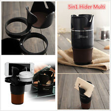 5in1 Hider Multi Cup Phone Glasses Pen Holder Bottle Console Storage Organizer
