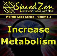 Increased Metabolism Binaural Beats Subliminal CD hemi-sync holosync brainwave