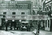 "Trowbridge Knee's Shop on Fore Street 1910 6 x 4"" Print - Wiltshire - Policeman"