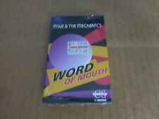 MIKE AND THE MECHANICS WORD OF MOUTH FACTORY SEALED CASSETTE SINGLE