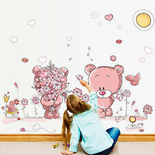 Removable Bear Vinyl Decor Art Mural Wall Stickers Decal Kids Baby Nursery Room
