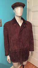 RALPH LAUREN Purple Label Quality Suede Coat Jacket Size M