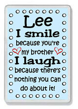 Personalised Brother Fridge Magnet * Funny Gift *