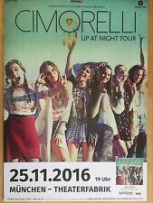CIMORELLI  2016  MÜNCHEN . - orig.Concert Poster -- Konzert Plakat  A1 NEU