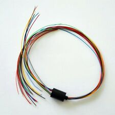 12.5mm Mini Slip Ring 12 Circuits*2A 12 Wires 240V Test Equipment