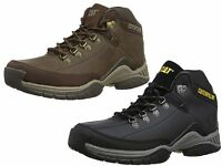 MENS CAT CATERPILLAR COLLATERAL LEATHER LOOK WORK WALKING BOOTS SIZES 6-12 NEW