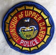 "Upper Darby Township Police Patch - Pennsylvania - 4"" x 4"""