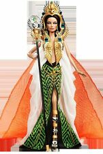 Cleopatra Barbie Doll Direct Exclusive Gold Label Fantasy Collectio MIMB Shipper