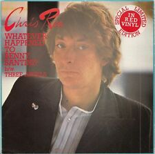 "CHRIS REA Whatever happened to Benny Santini? | 7"" red Vinyl Single"