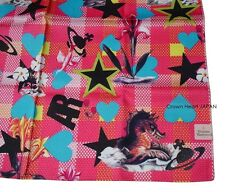 New Vivienne Westwood Handkerchief / Bandana AR Sea Monster Pink Japan-Made