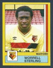 PANINI FOOTBALL 87-#357-WATFORD-WORRELL STERLING