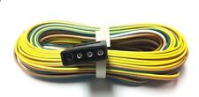 29.5 ft Trailer Wiring Harness 35ft Split Wire Harness W/ Flat 4 Pin Plug  NEW