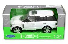 Welly 1/24 Scale Land Rover Range Rover White SUV Diecast Model 22415