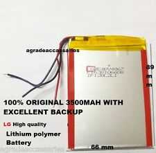 486789 BATTERY 3500 mAh 3.7v FOR TAB TABLET DEVICE For 7 inch Tablet 7""