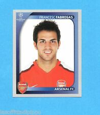 PANINI-CHAMPIONS 2008/2009-Fig.71- FABREGAS - ARSENAL -NEW BLACK