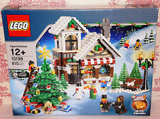 NEW SEALED LEGO CREATOR 10199 WINTER VILLAGE TOY SHOP NIB XMAS