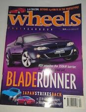 Wheels Magazine - 2001 Yearbook -  Falcon XR8 Pinup