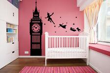 vinyl wall decal sticker dorm Peter Pan Never Land Kids Children Story a52