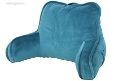Bed Rest Reading Pillow Arms Plush Polyester Fabric Back Support Bed Lounge Soft