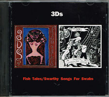 Fish Tales/Swarthy Songs for Swabs - 3Ds BRAND NEW SEALED CD(1991,First Warning)