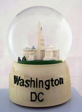 WASHINGTON  D.C.  MUSICAL WATER GLOBE SNOW GLOBE  PLAYS AMERICA THE BEAUTIFUL