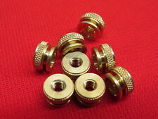 NEW 1932-36 Ford spark plug knurl nuts brass for original plugs     A11C