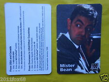 cartes de telephone 1998 phone cards 100 units mister bean rare telefonkarten gq