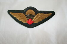 Canadian Forces Airborne Para Red Leaf Garrison Wing Full Size