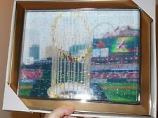 Gold Frames Jigsaw Puzzle of 2011 World Series Trophy