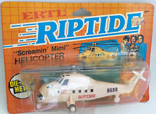 RIPTIDE : SCREAMIN MIMI ELICOPTER DIE CAST MODEL MADE BY ERTL IN 1984 (MLFP)
