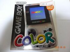 Game Boy Color Console Clear Box  JAPAN Game Nintendo GB GBC-1