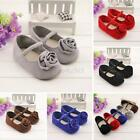 Baby Shoes Soft Sole Baby Girls Flower Princess Shoes Baby Shoe 0-18 Months W39