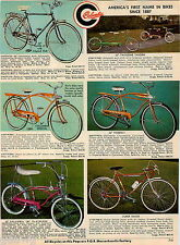 1968 ADVERT Columbia Bicycle Tandem Built For Two Banana Seat Firebolt Special