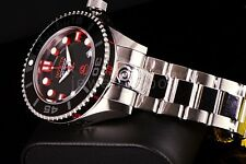 New Invicta 300M Grand Diver II NH35A Automatic 3D Case & Dial Black/Red Watch