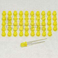 50 pz Led gialli 3 mm standard - ART. AD11