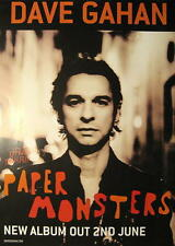 DAVE GAHAN POSTER PAPER MONSTERS - DEPECHE MODE