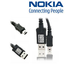 Genuine Nokia 3500 6120 E51 E62 E90 N76 N91 N95 Mini USB Charger Cable DKE-2