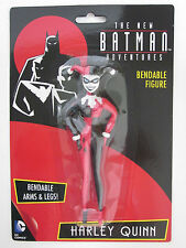 HARLEY QUINN ANIMATED SERIES Batman adventures Bendable Super Hero DC Comic toy