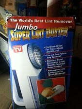 Jumbo Super Lint Buster Fabric Shaver, New, Free Shipping