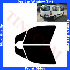 Pre Cut Window Tint Citroen Berlingo 5 Doors 2008-... Front Sides Any Shade