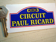 CIRCUIT PAUL RICARD old style retro vintage classic racing car sticker Bol D'or