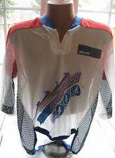 Rare 1990's NWT Bauer QUEBEC NORDIQUES Roller Hockey Authentic Jersey XL NEW