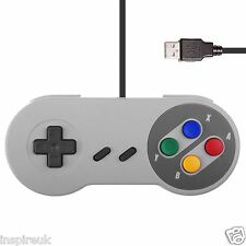USB PC Retro Gaming Controller Gamepad Snes Style Pad
