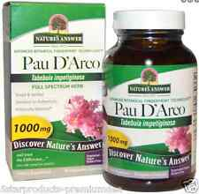 NEW NATURE'S ANSWER PAU D'ARCO VEGAN GLUTEN FREE FULL SPECTRUM HERB DAILY CARE