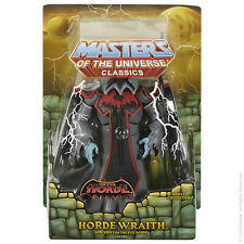 MOTUC Horde Wraith Masters of the Universe Classics Shadow Weaver Hordak In Hand