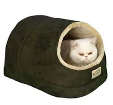 Cat Beds And Furniture House For Indoor Cats Small Dogs Insulated Faux Fur
