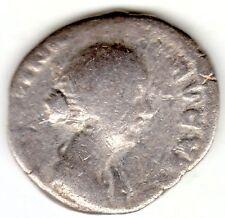 ROMAN SILVER AR DENARIUS FAUSTINA JR (THE YOUNGER) DAUGHTER OF ANTONINUS PIUS