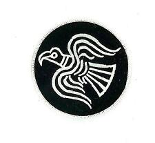 Patch patches flag embroidered backpack viking odin biker raven emblem black