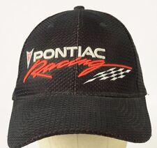 Pontiac Racing Nascar Red Black Baseball Hat Cap Adjustable